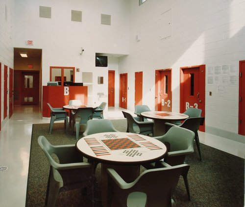 Part of the interior of the Shenandoah Valley Juvenile Center in Staunton, Virginia. Photo by Shenandoah Valley Juvenile Center