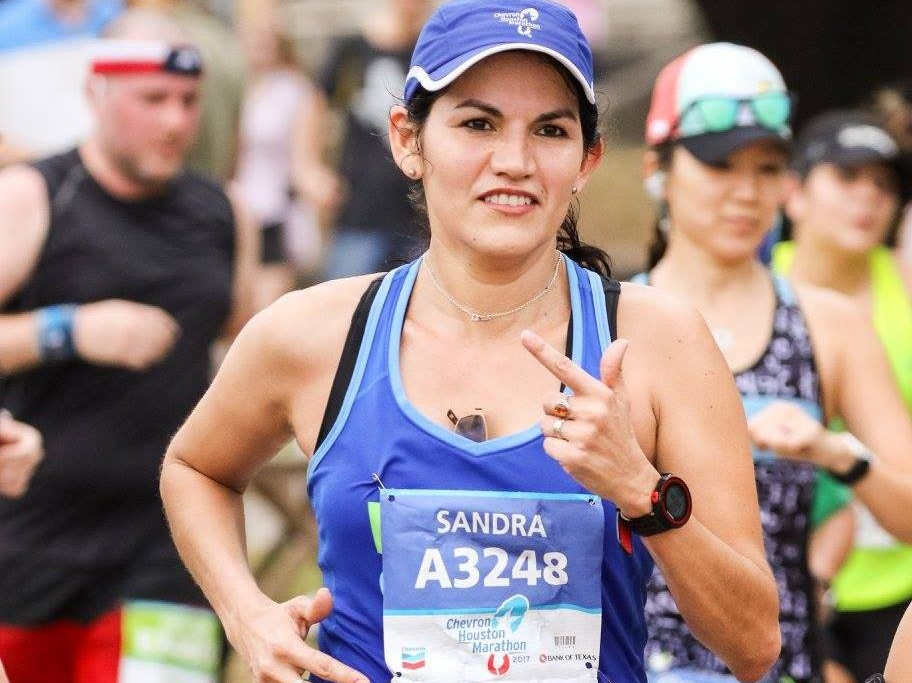 Houston runner Sandra Ruiz.