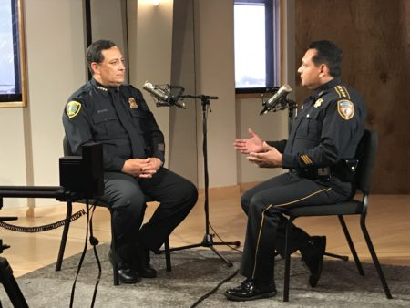 HPD Chief Art Acevedo and Sheriff Ed Gonzalez