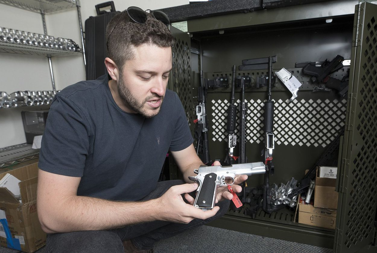 Cody Wilson, gun rights activist and founder of Defense Distributed, a Texas-based company developing and publishing open source gun designs for 3D printing and manufacture.