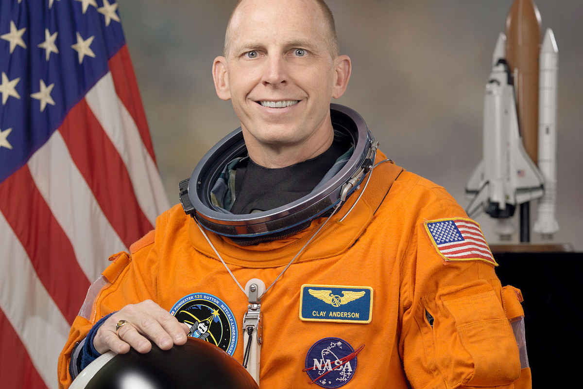 Retired Astronaut Clayton Anderson