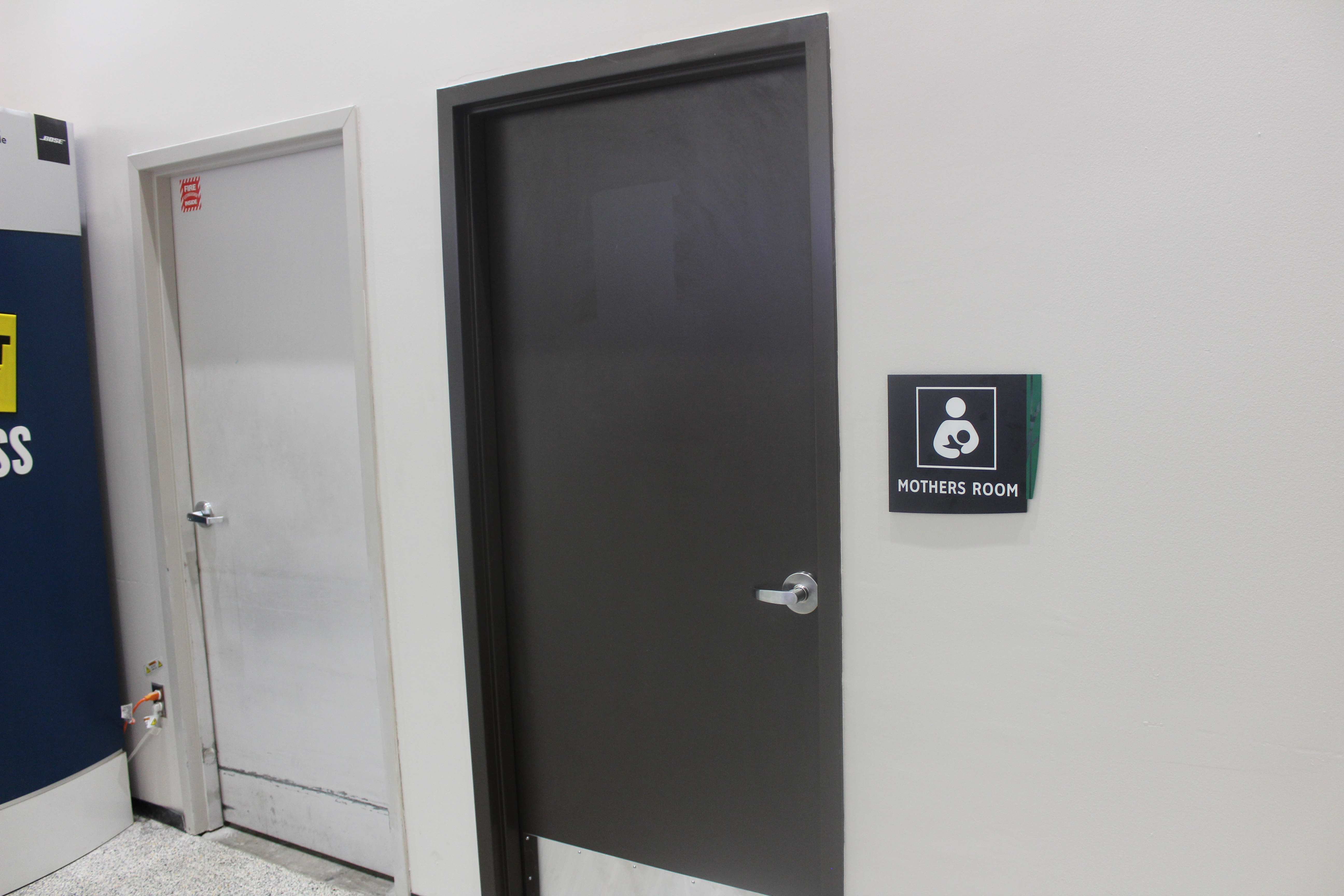 New nursing suites at Bush Intercontinental are located in Terminals A and C