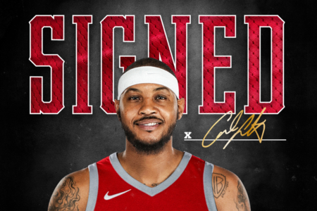 Carmelo Anthony Signed