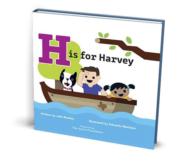 H is for Harvey - Book Cover