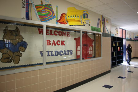Nearly 600 students returned to their home campus at Hilliard Elementary a year after it suffered extensive damage from Harvey.