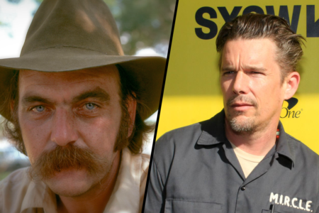 Blaze Foley and Ethan Hawke