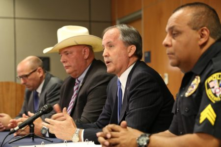 Texas Attorney General Ken Paxton is leading the lawsuit.