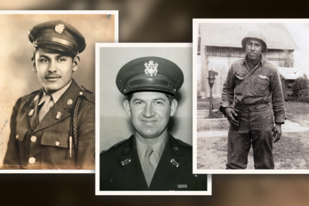 Texas soldiers who helped liberate concentration camps