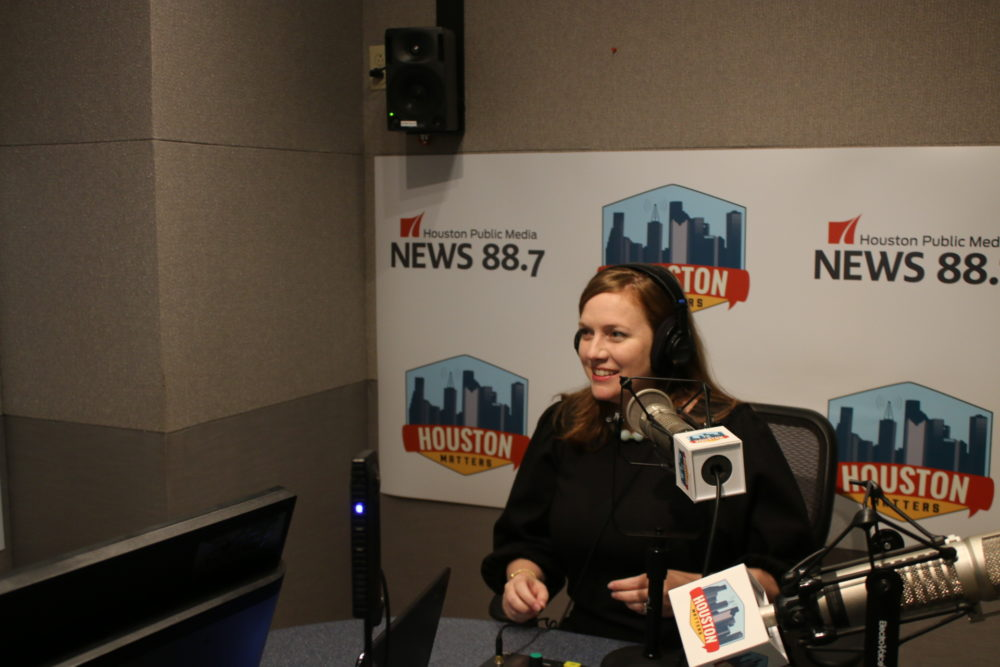 Congressional candidate Lizzie Pannill Fletcher was interviewed on Houston Matters on Sept. 11, 2018.