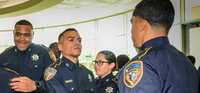 Employees of the Harris County Sheriff's Office are getting a raise.