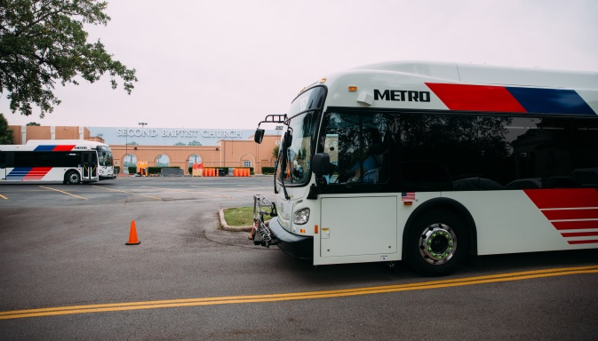 The proposed projects include enhanced bus service to Bush Airport.