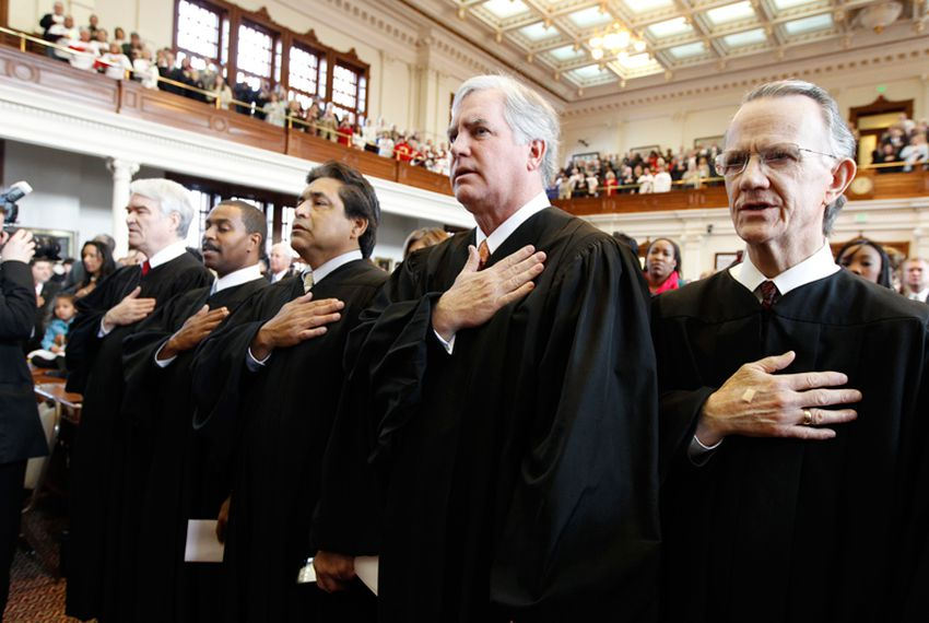Justices of the Texas Supreme Court.