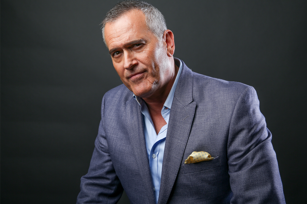 Bruce Campbell Says He'd Still Go to Comic Cons Even if He ... Bruce Campbell
