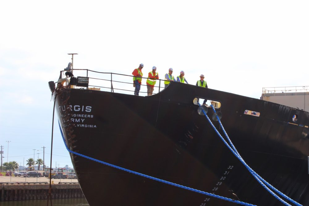 The U.S. Army Corps of Engineers, Baltimore District, working closely with the Corps' Galveston District, has recently completed decommissioning of the STURGIS, a former World War II Liberty Ship that was converted into the first floating nuclear power plant in the 1960s.