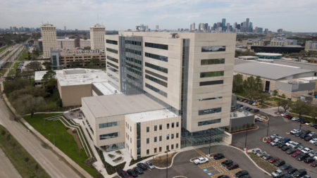 The Health 2 serves as the temporary home to UH's College of Medicine.