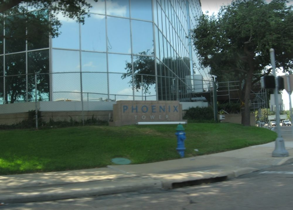 Senator Ted Cruz's campaign has an office at the Phoenix Tower, in southwest Houston.