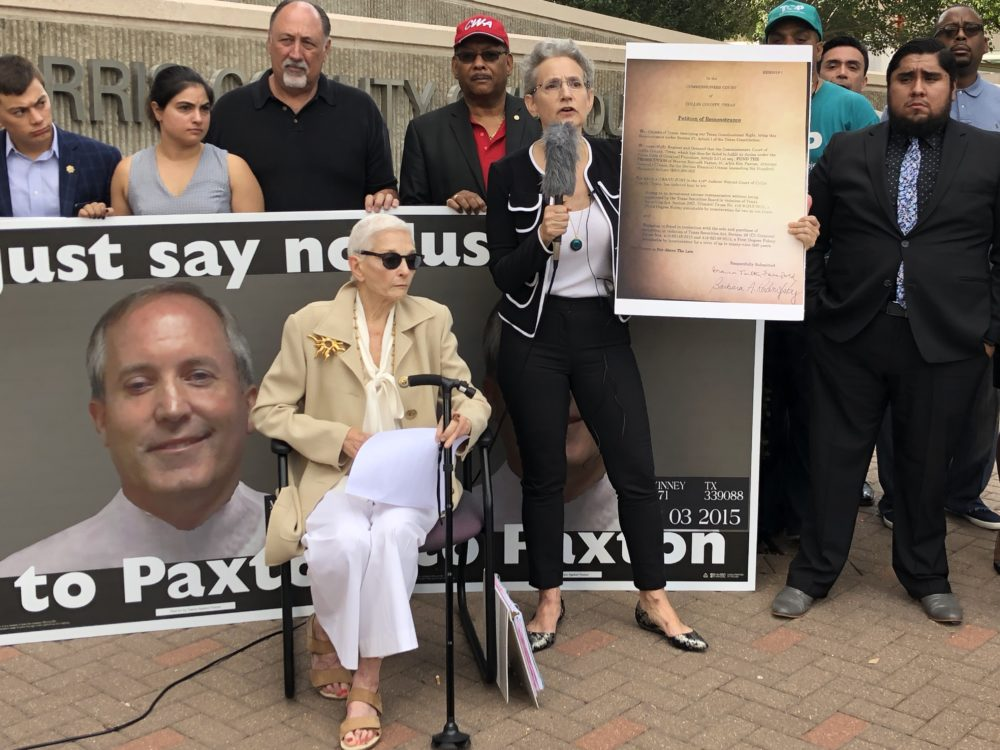 Paxton petition