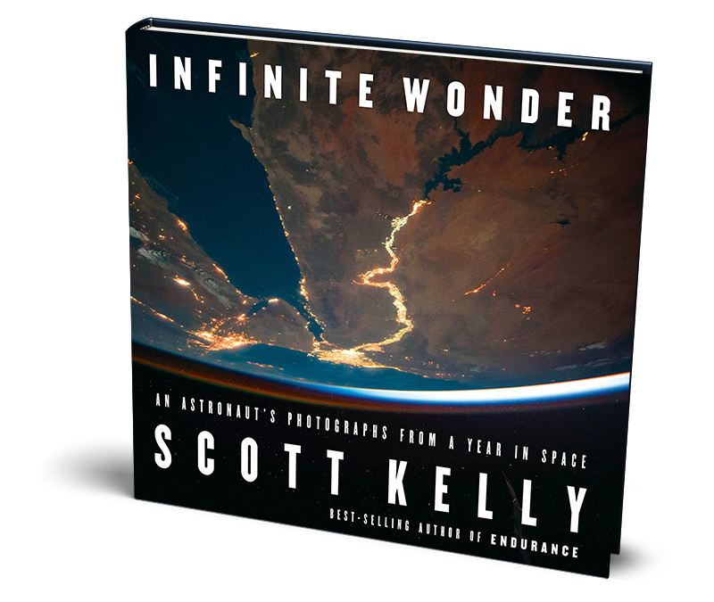 Scott Kelly - Infinite Wonder - Book Cover