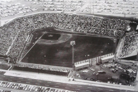 Colt Stadium from the Air