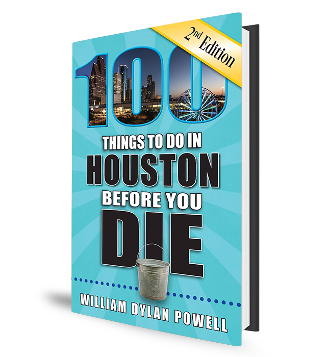 100 Things to Do In Houston - Book Cover