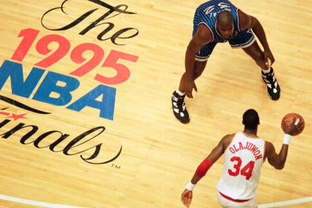 1995 NBA Finals - Rockets v. Magic