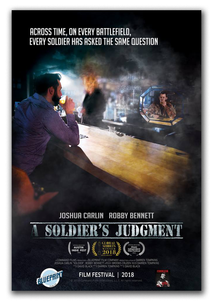 A Soldier's Judgment Poster