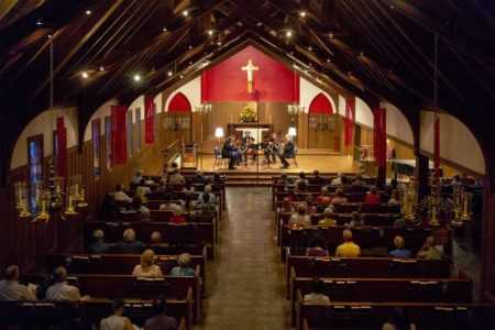 Concert photo of St. Cecilia Chamber Music Society