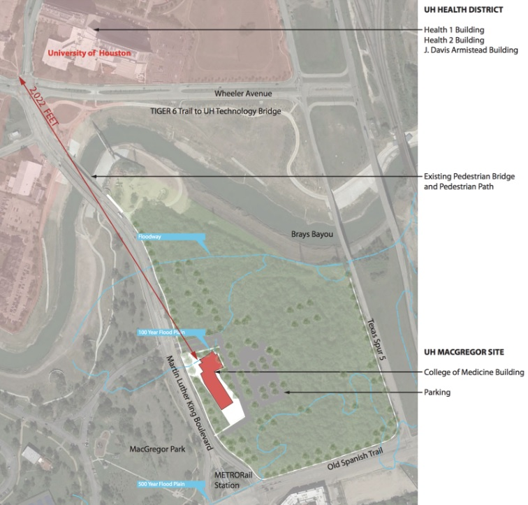 UH College Of Medicine To Be Built On Campus, Near MacGregor