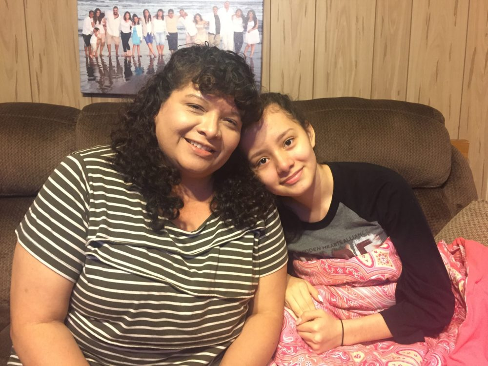 Alice Quiroz said that she's learned to advocate and document what happens to her daughter, Alyssa, because of her medical condition. She wants the Houston community to come together to figure out a solution to the Houston school district's bus woes.
