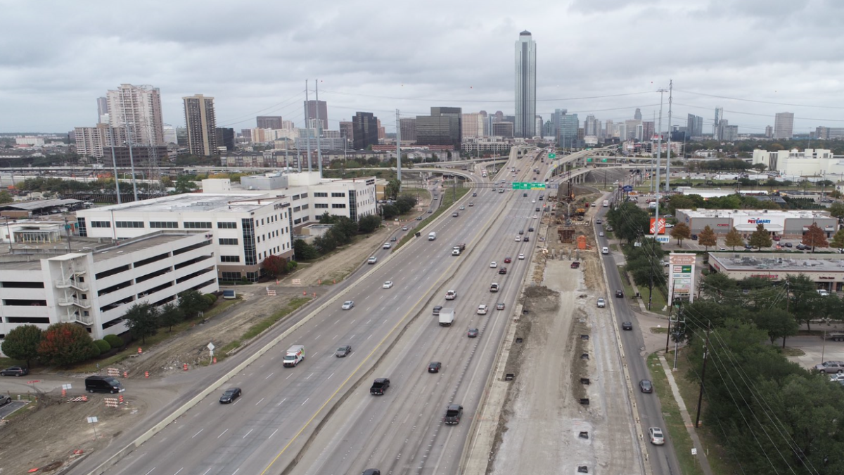 txdot starts work to remake houston s most congested freeway