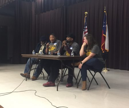 Leaders with Journey for Justice Alliance, Black Lives Matter Houston, HISD Parent Advocates and other groups organized a town hall this weekend.