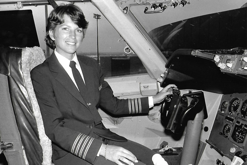 Lynn Rippelmeyer In The Cockpit
