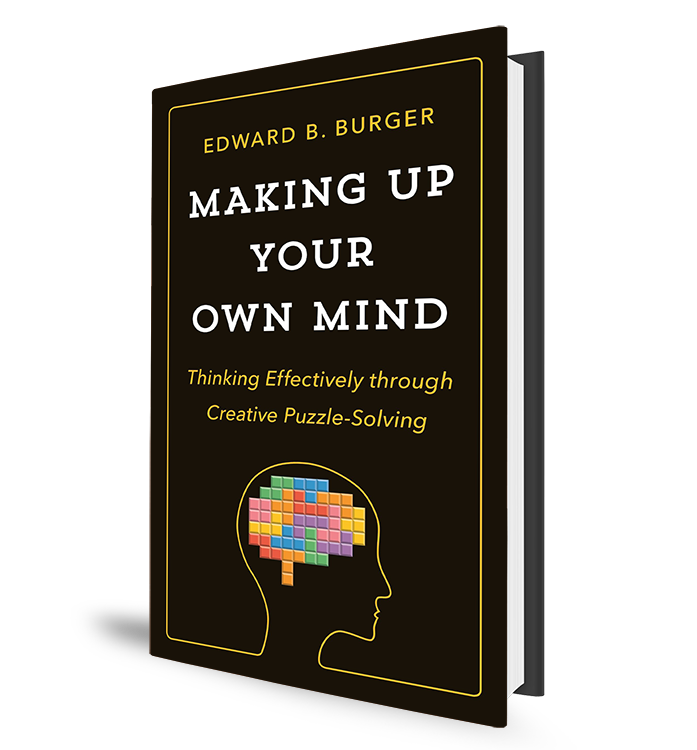 Making Up Your Own Mind Book
