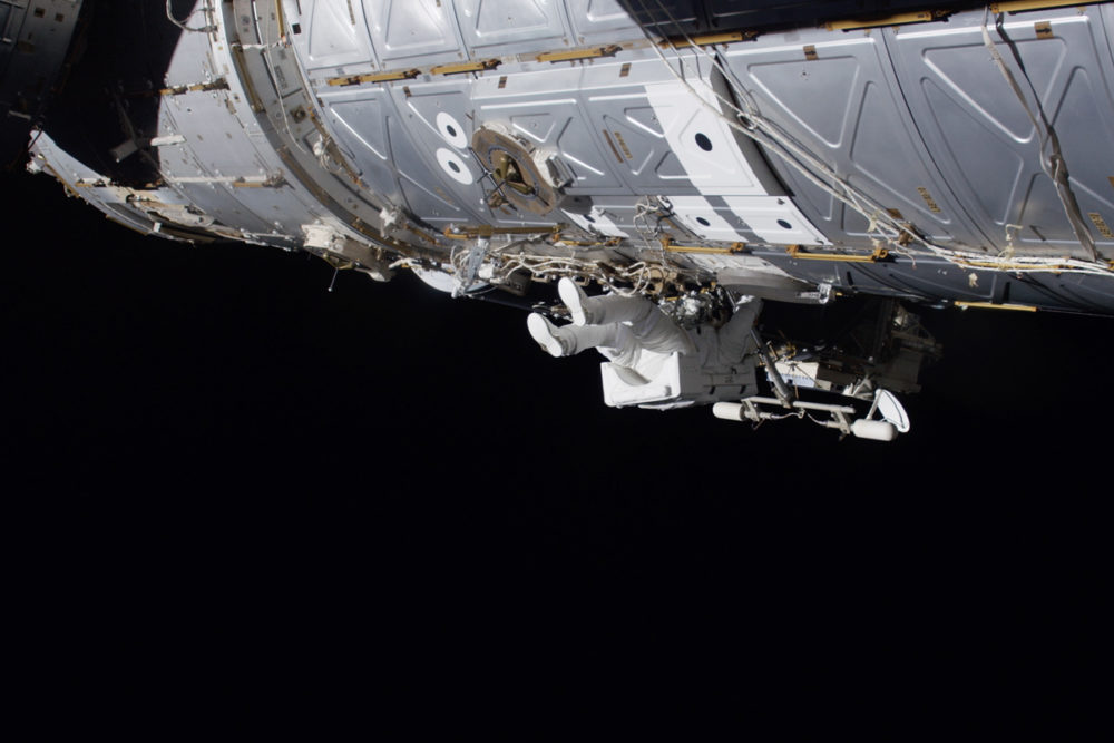 An Astronaut on a Spacewalk