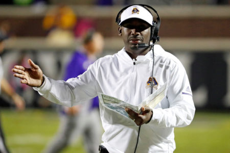 ECU Football Coach Scottie Montgomery