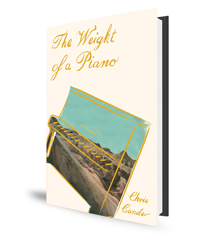 The Weight of a Piano - Book