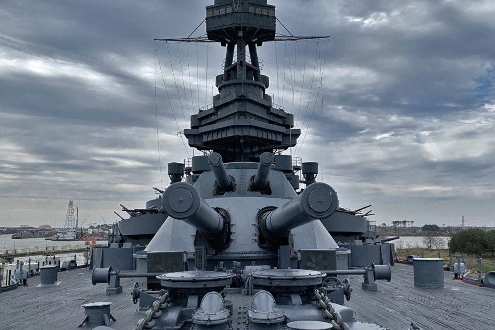 Battleship Texas - Guns on Deck