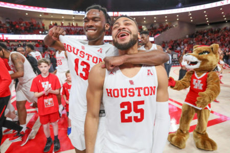 UH Cougars Men's Basketball Defeats Cincinnati