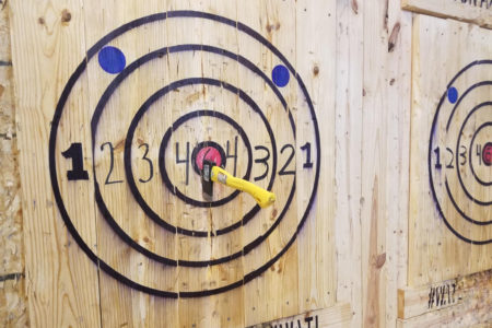 Axe Throwing - Bullseye