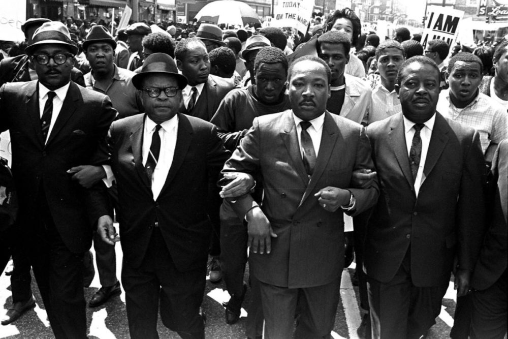 Dr. Martin Luther King, Jr. in Memphis