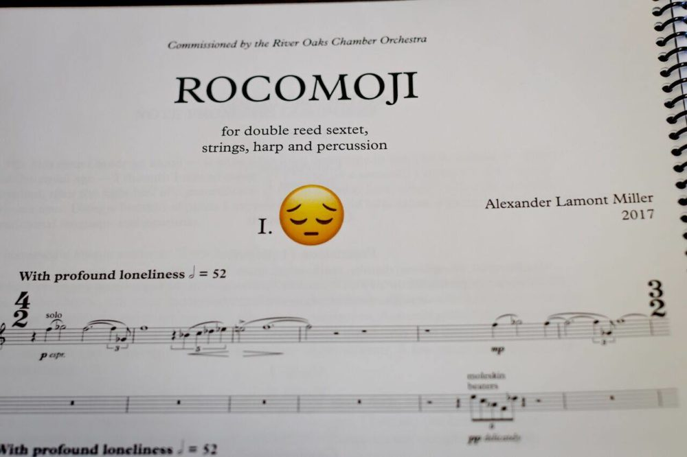 Page from musical score.