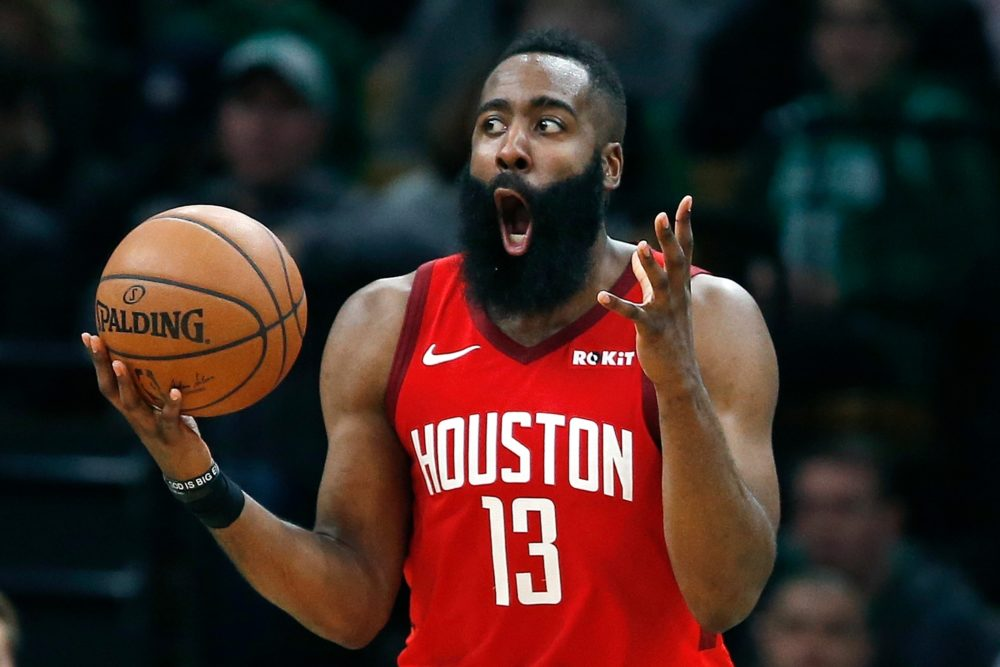 James Harden Reacts