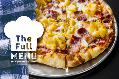The Full Menu - Pizza Banner