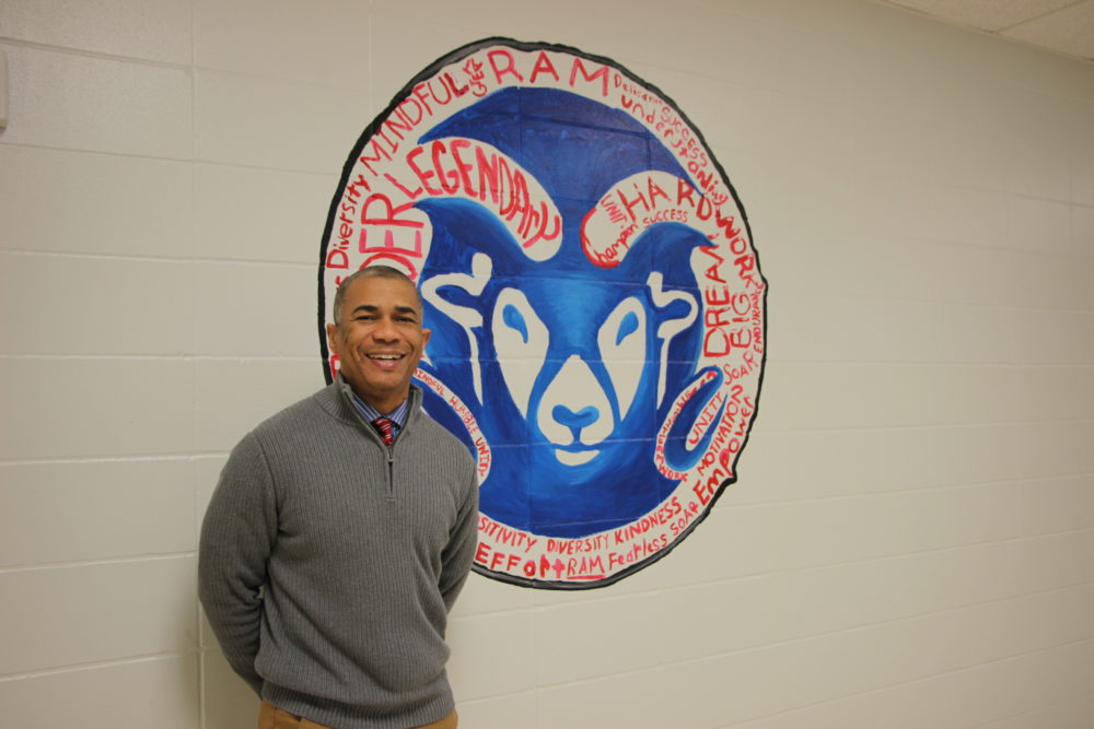 This is Reginald Bush's first year as principal at Kashmere High. He previously led Kashmere Gardens Elementary, which beat the odds and got off the state's watch-list.