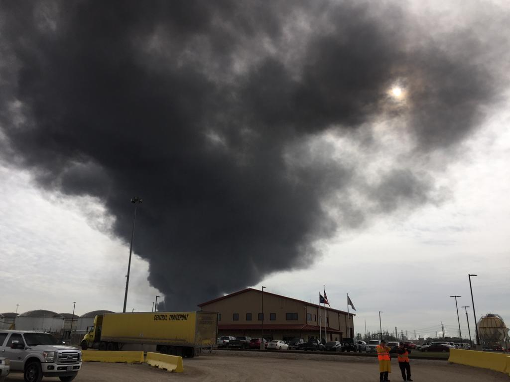 UPDATE: Company And Texas Officials Say Fire At Deer Park