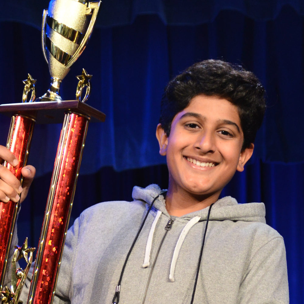 2019 HPM Spelling Bee Runner Up, Sankalp Gautam