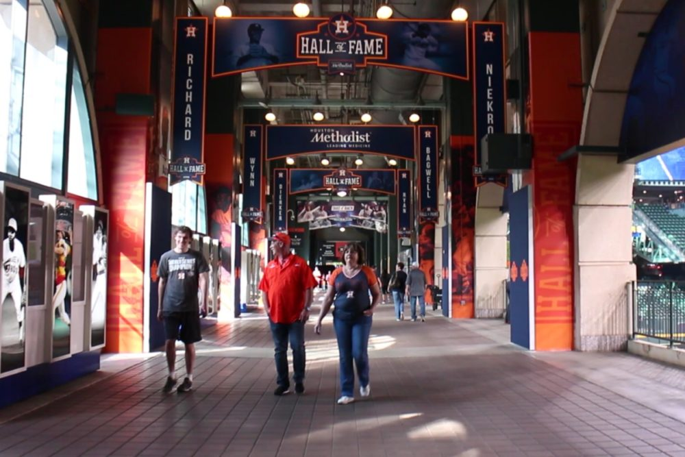Astros Hall of Fame Walkway