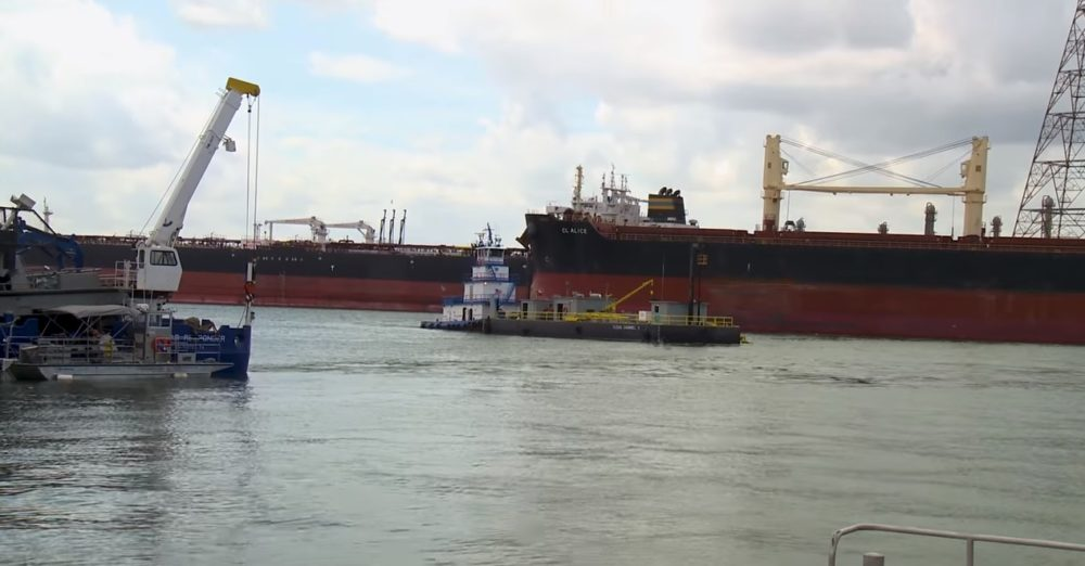 Harmful Chemicals Lingered In Houston Ship Channel For Months After ITC Fire – Houston Public Media 3