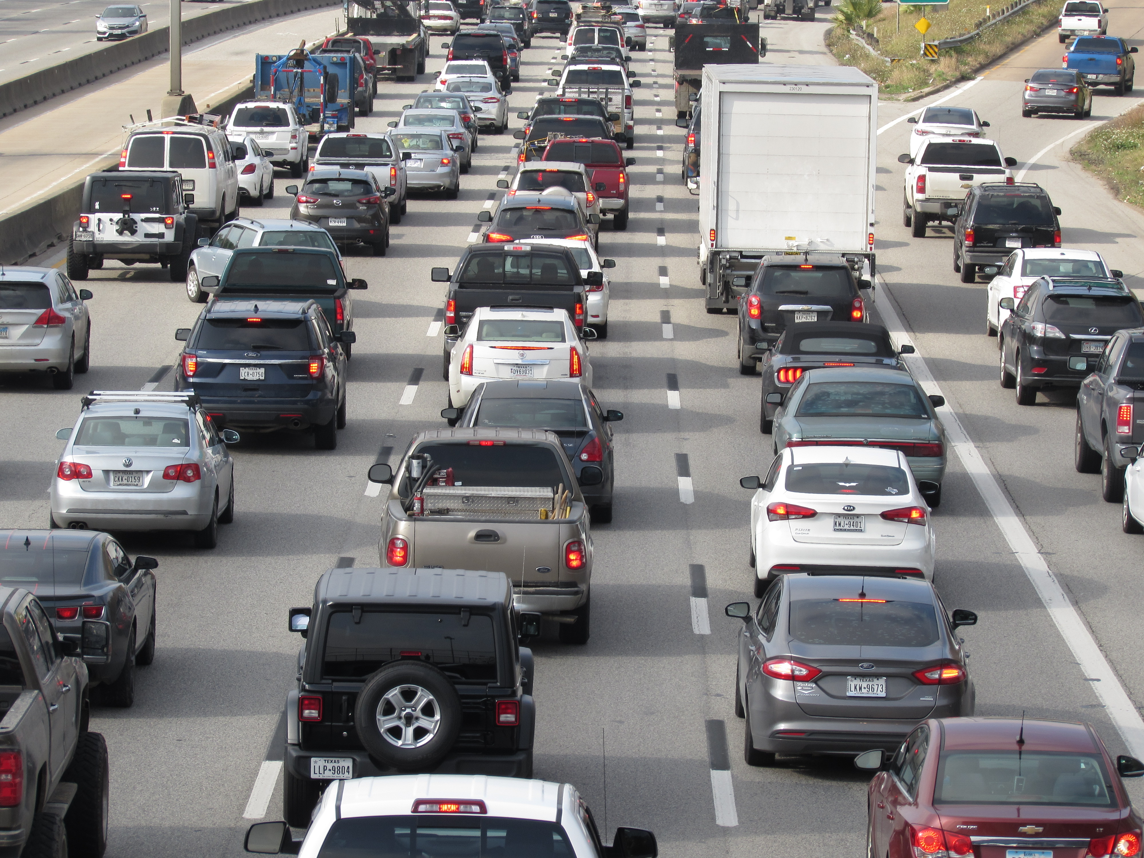 Report: Houston Drivers Spend An Average Of 75 Hours A Year Stuck In Traffic Houston Public Media