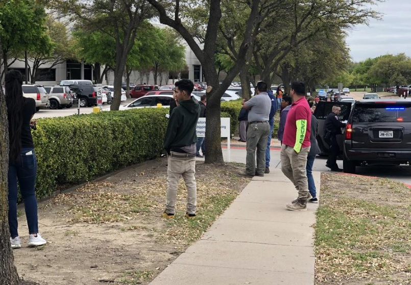 Immigration Raid Underway At Technology Company North Of